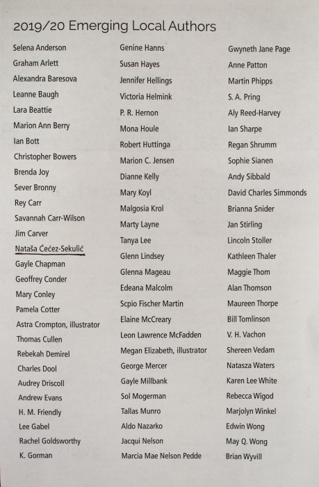 lista autora